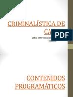 1 CRIMINALÍSTICA DE CAMPO