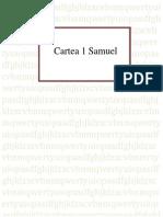 1 Samuel - Cartea Intreaga