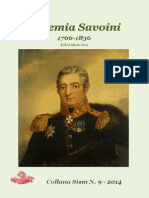 2014 CORTI Geremia Savoini 1776-1836