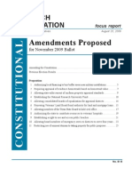 HRO Report Amendments