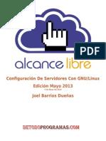 002. Configuración De Servidores Con GNU-Linux Edicion Mayo 2013