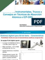 Trucos y consejos Absorción Atómica y ICP-OES