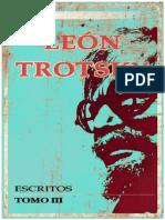 Trotsky - Escritos 3