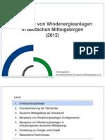 Bundesverband Deutsche Mittelgebirge Akzeptanz-windenergie