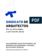 Xvii Convenio Arquitectos Texto Definitivo