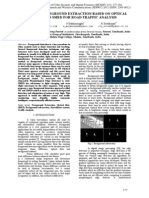 Efficient Foreground Extraction Based on Optical Flow and SMED for Road Traffic Analysis