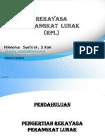 [PPT] Rekayasa Perangkat Lunak
