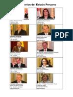 Ministerios Del Estado Peruano