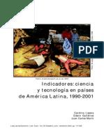 Indicadores Ciencia y Tecnologia en AL