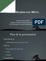 TER 2007 Authentification 802.1x Diaporama (1)