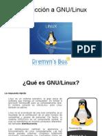 Qué es GNU-Linux