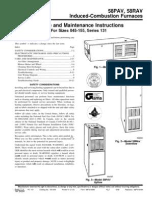 Carrier 58pav070 manual.