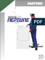 Maytag Neptune Washer Service Manual MAH6500AWW
