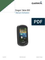 Garmin Oregon 650t Notice Mode Emploi Guide Manuel PDF