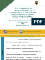 Santiago Urdaneta (Estilos de aprendizaje... inglés...) (1)