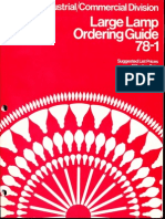 Sylvania 1978 Large Lamp Ordering Guide
