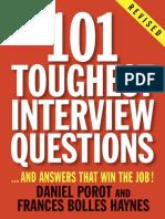 101 Toughest Interview Questions by Daniel Porot - Excerpt
