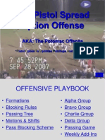 Pistol Spread Option Playbook 2009 Version
