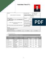 CV Dede Praditya New