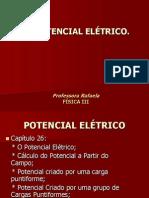 POTENCIAL ELÉTRICO - Fís III