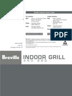 Breville 800GRXL Manual