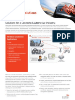 Solutions Overview Automotive Tabloid