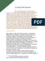(eBook - ITA - ARTICOLO) Derrida, Jacques - La Lingua Dello Straniero (PDF)