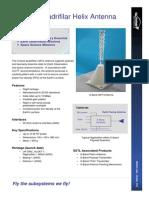 S Band Quadrifilar Helix Antenna Datasheet