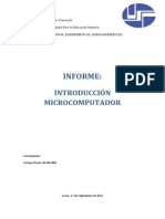 INFORME MICROCOMPUTADOR
