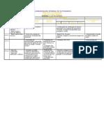 CALENDARIZAÇÃO SEMANAL DE ACTIVIDADES1
