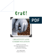 CraC! Creativity and Communication Course Guide - Unitec COMM5533