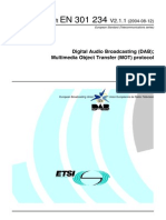 DAB Multimedia Object Transfer