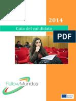 Becas Fellow Mundus 2014