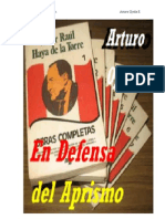 En Defensa del Aprismo.