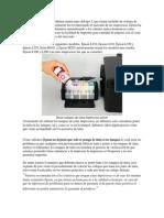 Las Impresoras Epson Modernas Tienen Unas Del Tipo L Que Tienen Incluido Un Sistema de Tinta Continua