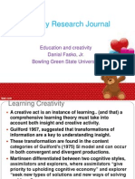 Creativity Research Journal