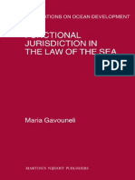 Functional Jurisdiction in the Law of the Sea (Publications on Ocean Development)