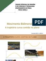 2013.2 Aula 6 Movimento Bidimensional Alunos