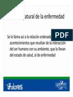 Unidad v Historia Natural de La Enfermedad