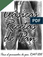 40125527 Maquina Para Pan Recco Rmp 838 Recetas y Manual