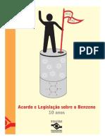 Acordo e Legislação sobre o Benzeno - 10anos