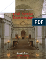 San Francisco City Government Civil Service - Annual Report 2002