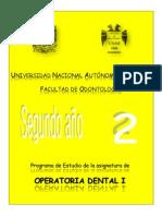 Operatoria Dental i 2013 Cc