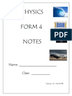Physics Form 4 Notes