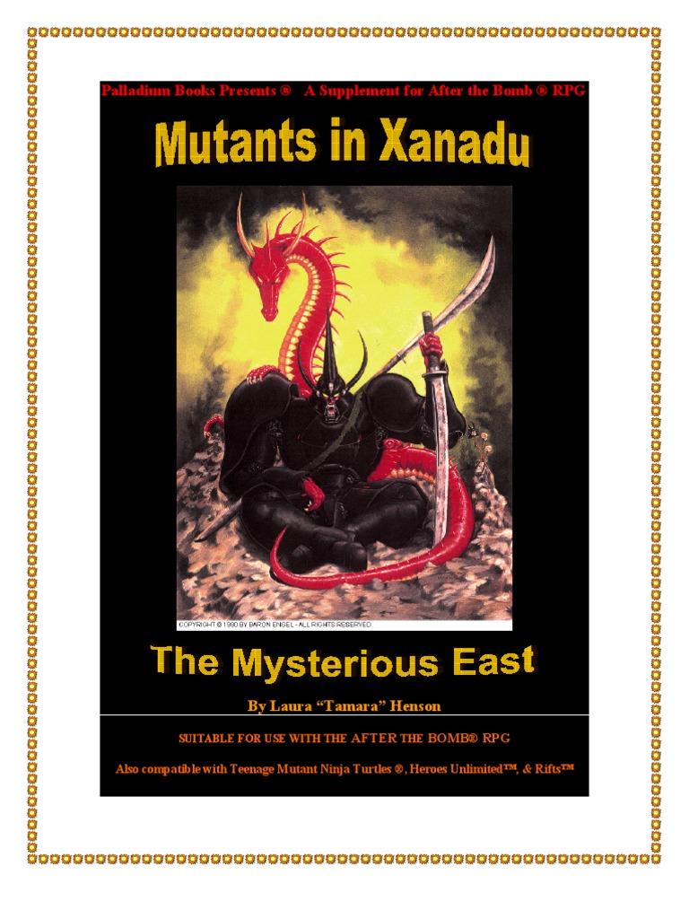 Mutants In Xanadu 2nd Edition