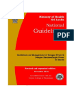 Guidelines for the Management of Df and Dhf in Adults