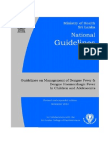 guidlines for management of df & dhf