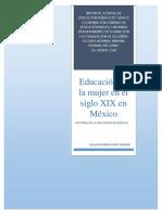 EL DERECHO DE A LA EDUCACIÓN DE LA MUJER