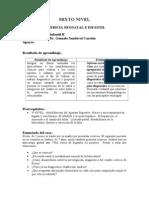 Caso de Ictericia Neonatal e Infantil Por Resultados de Aprendizaje Diciembre 2011