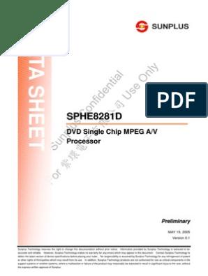 SPHE8281D | Detector (Radio) | Cpu Cache